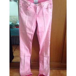 Aeropostale pink jeans