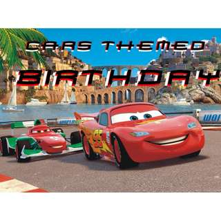 Cars Themed Birthday Party for your little one!