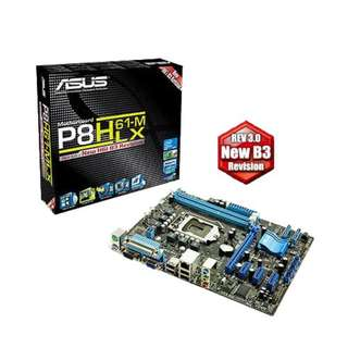 ASUS P8H61-M LX Motherboard with Intel I3-2100 Processor