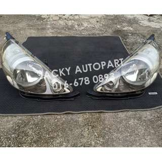 Lampu Titanium Facelift Honda Jazz Fit Gd3 Japan