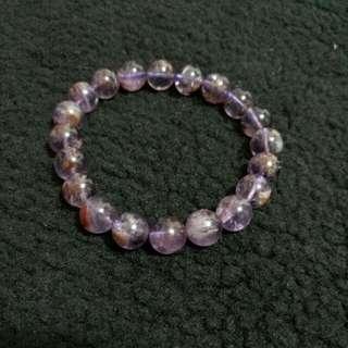 紫幽靈水晶 purple ghost crystal