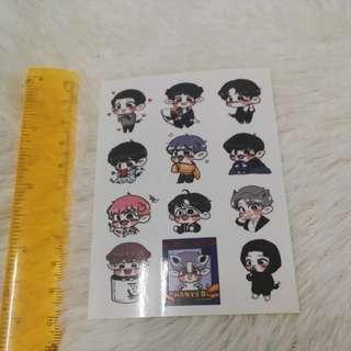 Chanyeol kokobop power sticker