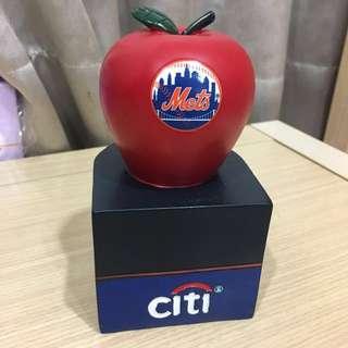 全新!美國帶回!🍎MLB 紐約大都會(New York Mets)隊🍎存錢筒