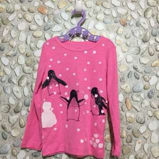Pink Long Sleeves by Carter's