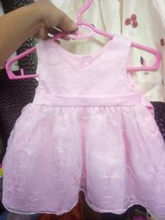 Pink Cute Gown/Dress