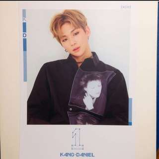 SALE Wanna One Kang Daniel TBO Postcard