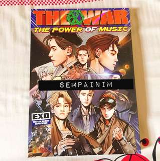 WTS EXO repacked album The Power of Music