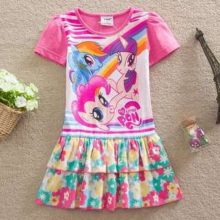 Preorder short sleeve poney Dress
