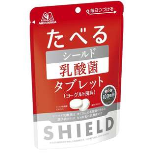 (代購) 日本製造 森永 MORINAGA Shield 乳酸菌糖 33g (6 包裝)