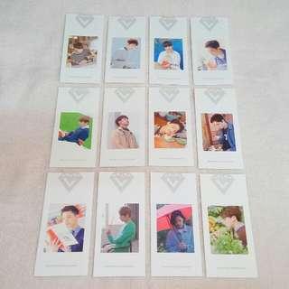 Seventeen Photocard Bookmark Official