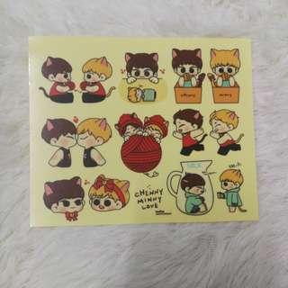 Xiuchen stickers