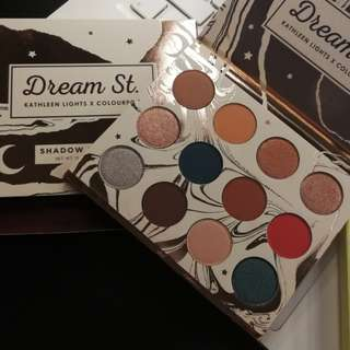 Colourpop eyeshadow palette Kathleen light dream st.
