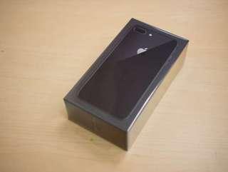 全新原封iphone 8 plus 64G 黑色