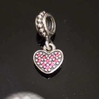 Pandora Charm - Pink Heart
