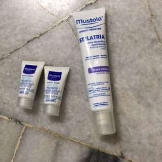 Mustela - Stelatria Purifying Cream (40ml) with FOC Mustela Hydra Bebe Facial Cream (5mlx2)
