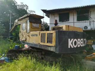 Kobelco excavator k907b