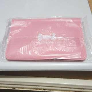 超薄韓國可愛粉紅色卡套 卡包