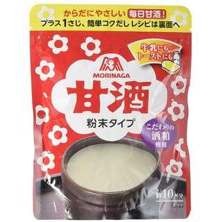 【預購】日本代購 日本老牌森永甘酒粉 『甘酒不是酒』在日本近年漸漸取代納豆的健康食品 日本製