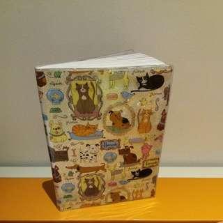 Original Harrods Notebook (Dog & Cat Print)