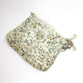 [小手袋][包平郵]Terrazzo Italy彩色花紋布質手抽小手袋