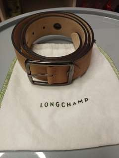 Longchamp leather belt