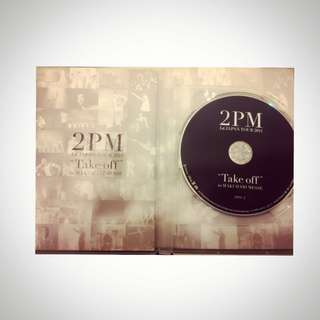 2PM 1st Japan Tour 2011 「TAKE OFF 」寫真+DVD