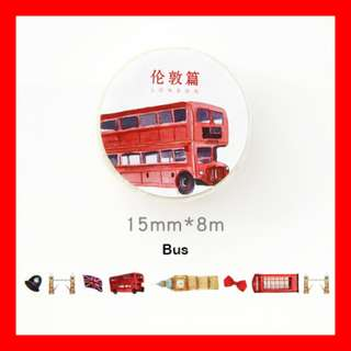Washi Tape (Bus)