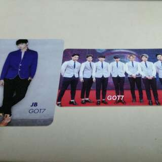 GOT7 yescard