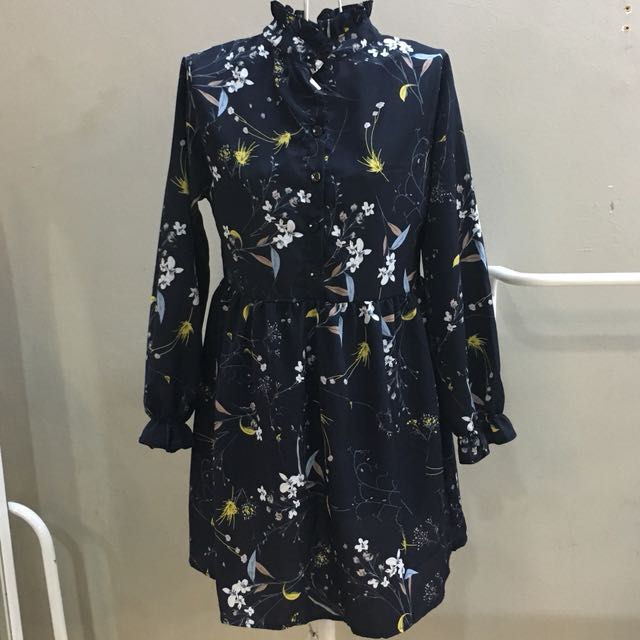 [2forRm60] NEW Floral Long Blouse