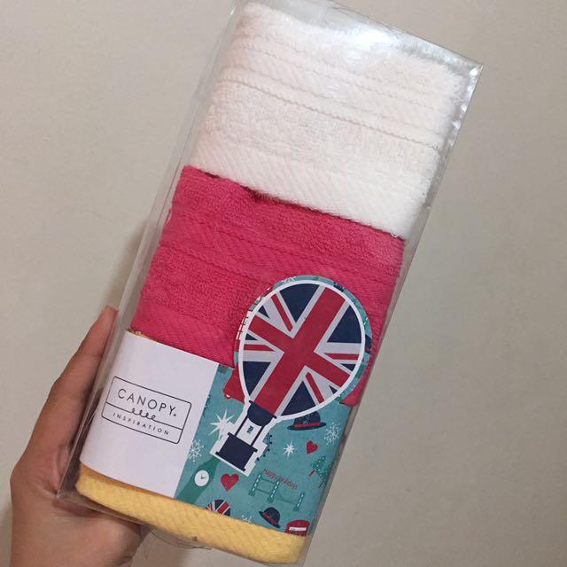 3 pc towel set