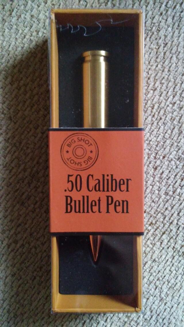 .50 Caliber Bullet Pen