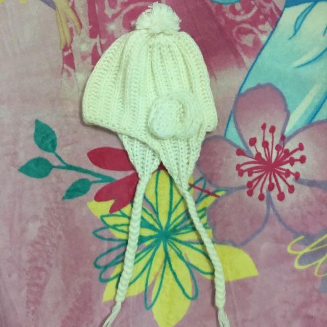 日本球球針織帽