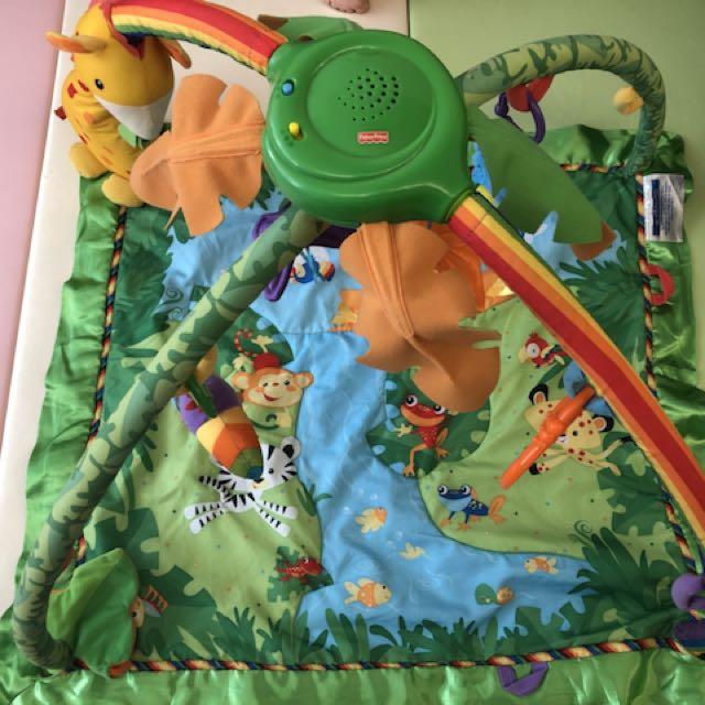熱帶雨林健身器/健力架/遊戲墊