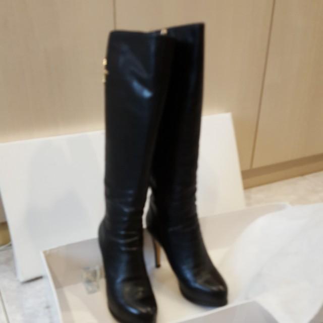 ITALY品牌 ANGEL 及膝長桶靴
