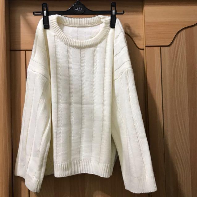 (全新)針織上衣#好想找到對的人#冬季衣櫃出清