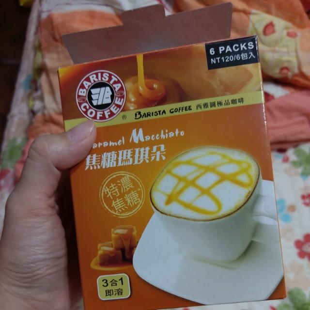 西雅圖咖啡 焦糖瑪琪朵 4包