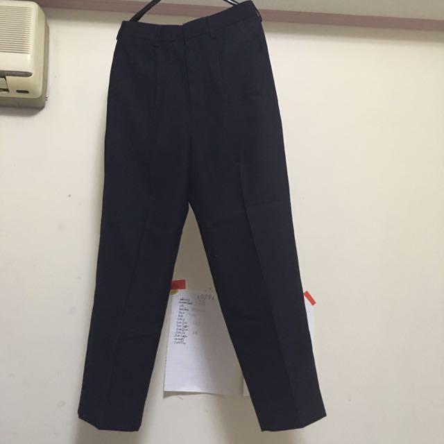 出售【二手】  男西裝(褲子、背心、外套)-深灰黑 (不含運費/面交)