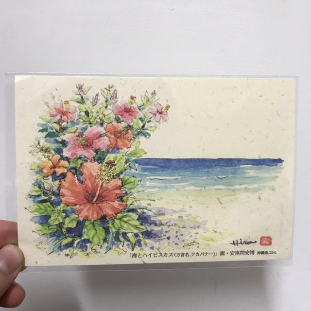 全新 日本 沖繩帶回 明信片