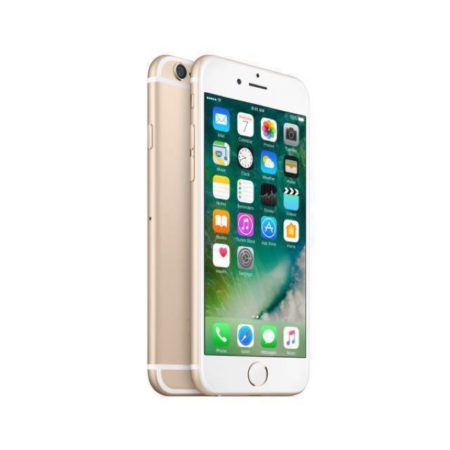 二手機 空機 iPhone 6 Gold 64GB 土豪金