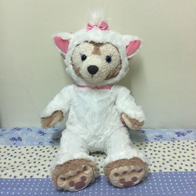 迪士尼 瑪莉貓款 達菲/雪莉玫/大學熊s號衣服