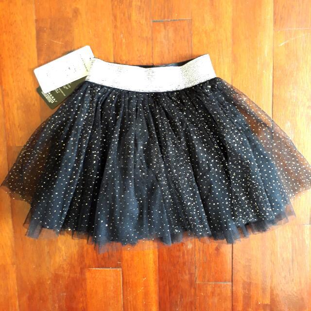 🎀 Black Glitzy Tutu Skirt For 2-3 y.o 🎀