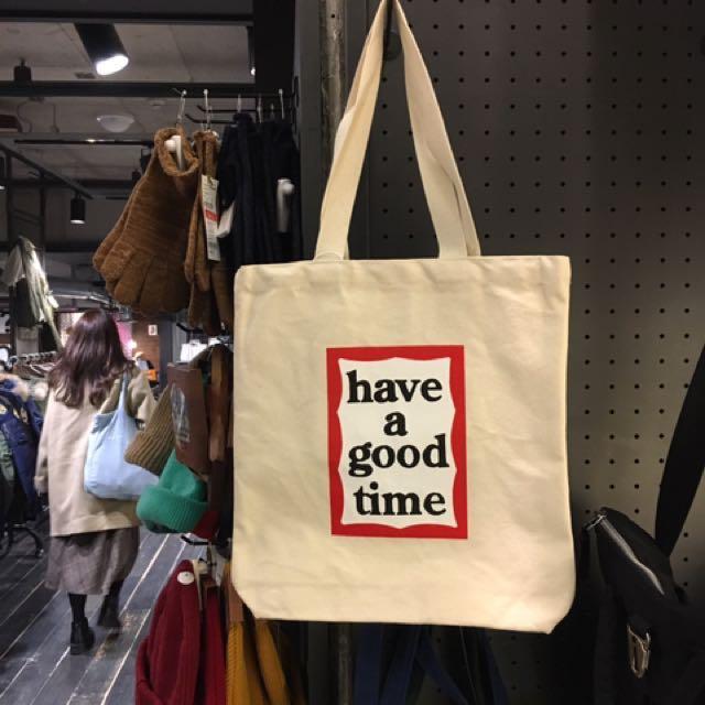 現貨 Have a good time 手提袋