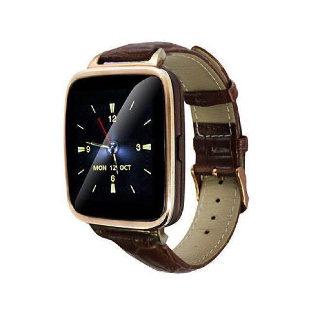 愛思 IS 智慧心率運動手錶 支援藍芽 支援通話訊息接收 WA-03 皮革款