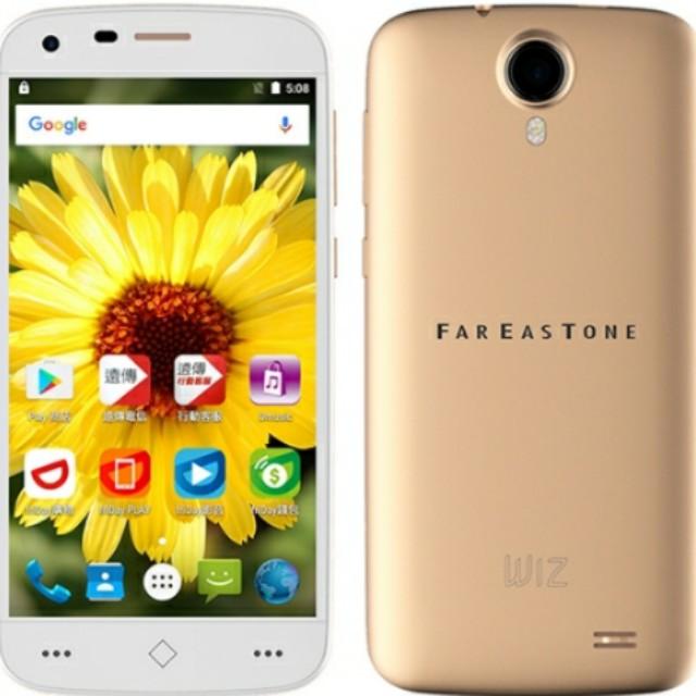 全新 FET ZTE smart 508 金色 遠傳獨代 智慧型手機 老人機 備用機