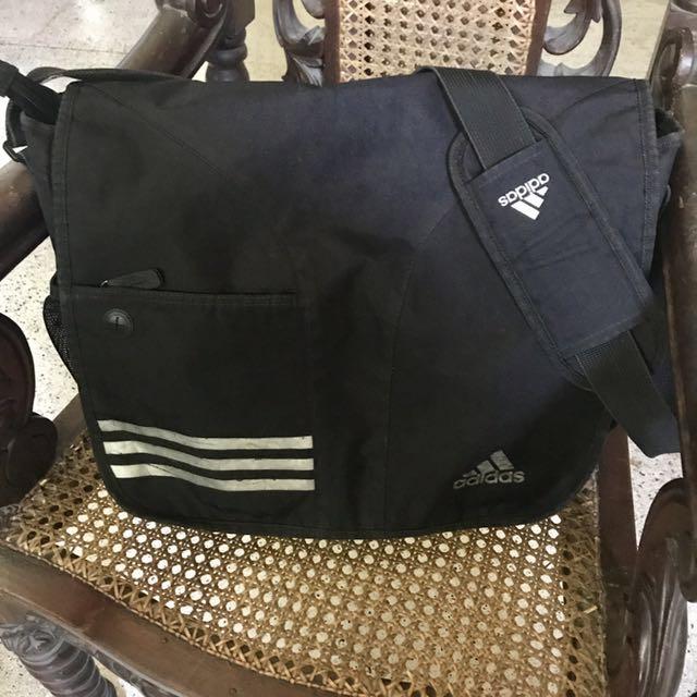 5f2b4218f251 Adidas Cross-body Messenger Bag in Black 💯 Authentic