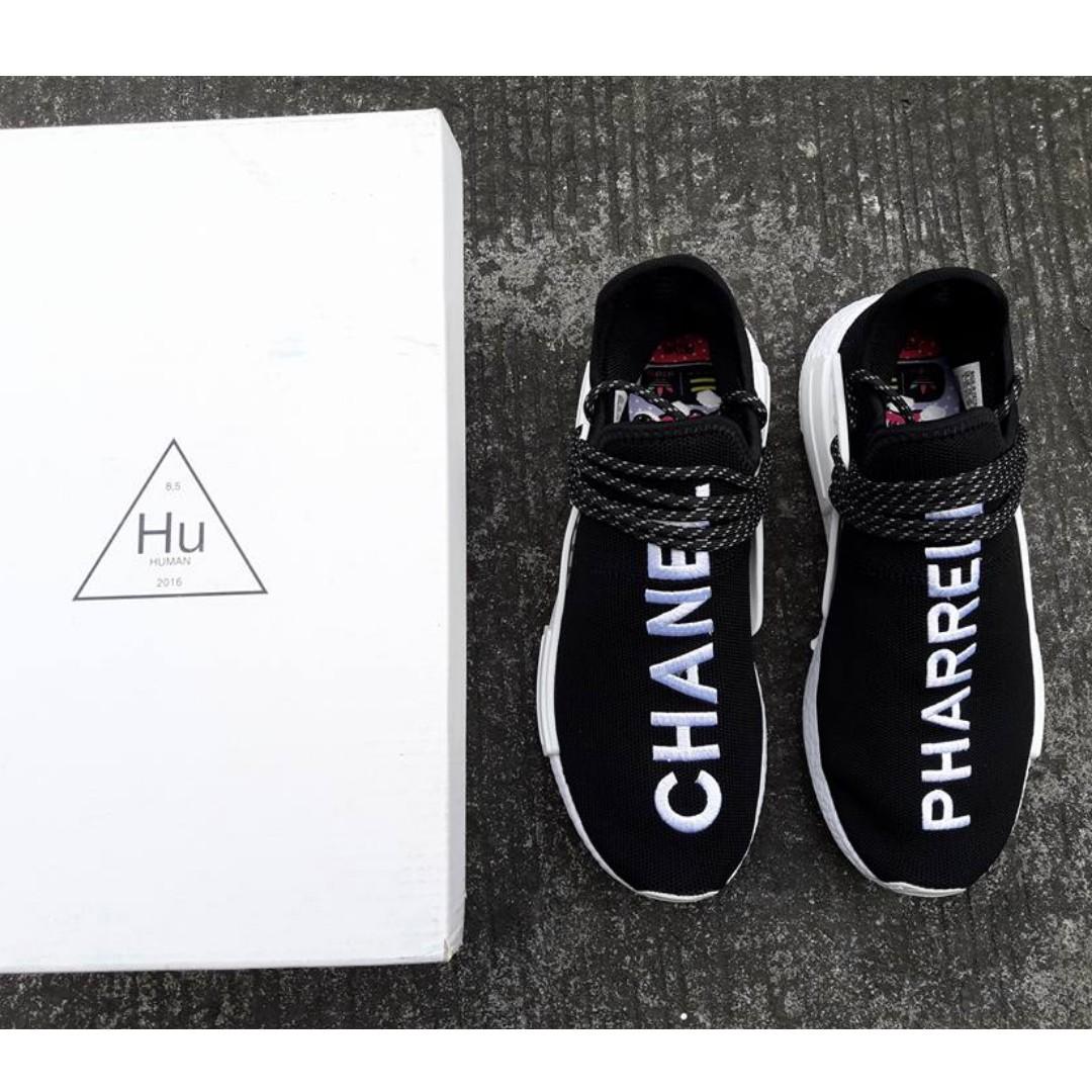 b63b5e4c617 Chanel x Pharrell x Adidas NMD Human Race Trail