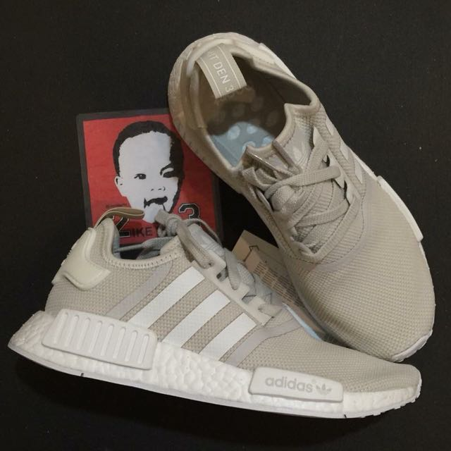 Adidas NMD R1 Talc Women s Size 7.5 751699521