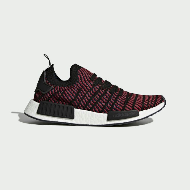 ADIDAS NMD R1 MESH TRIPLE BLACK 9.5US DS CORE LIMITED