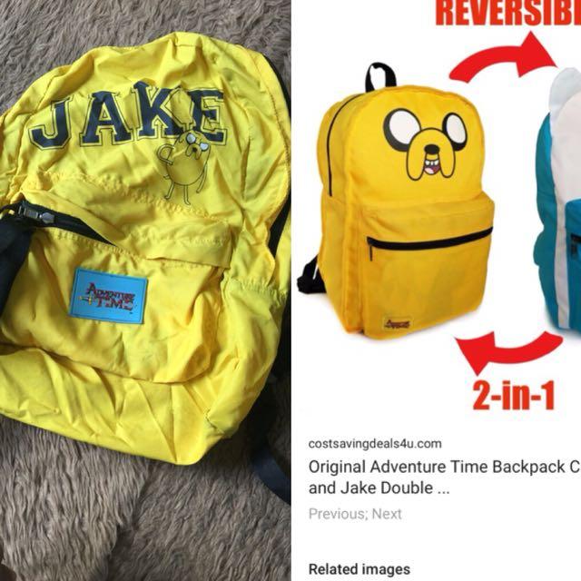 Adventure time knapsack