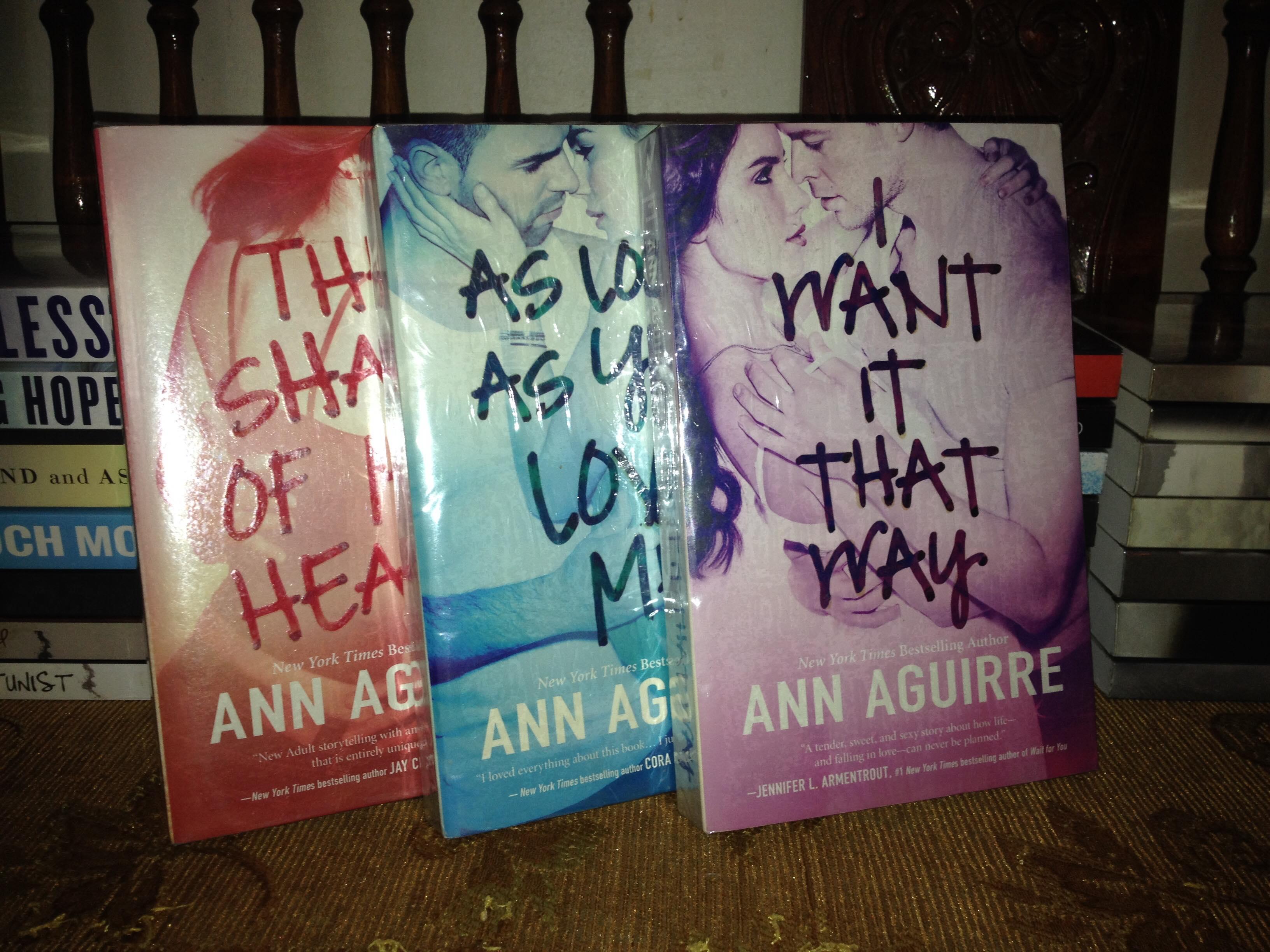 Ann Aguirre Set
